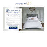 Win Two $1,000 Gift Vouchers from Sheridan