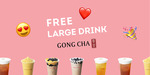 [VIC] Free Large Bubble Tea (Worth $8) for New Users or $3 off $6 + 10% Back for Existing Users @ Gong Cha via Liven App