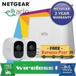 NetGear Arlo Pro 2 - 2 Camera Unit (VMS4230P) $664.05 @ Wireless1 eBay
