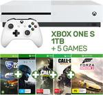 Xbox One S 1TB + 5 Games $314.10 @ EB Games eBay