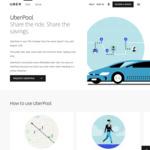 [NSW] UberPool Discount to 70% Less than uberX