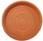 Northcote Pottery Terracotta Italian Saucer - 150mm $1.70 (Was $2.55), 130mm $1.50 (Was $2.45) @ Bunnings