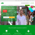 NIB Health Insurance - Join Combined Hospital and Extras Cover and Get a $200 Flight Centre eGift Card