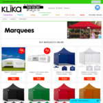 38% off 3x6 Outdoor Event Marquee ($59 + Variable Shipping) @ Klika