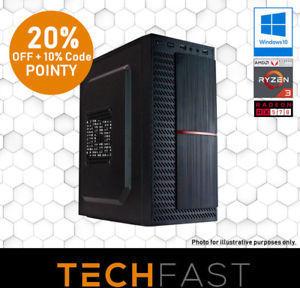 Ryzen 3 / RX 570 Gaming Computer (Ryzen 3 2200G, RX 570 4GB