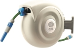 Aqua Systems Auto Rewind Hose Reel 20m X 12mm with Adjustable Nozzle $44.90 @ Bunnings