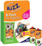 The Buzz 8 Pack Fly Papers $2 (Was $4) @ Big W