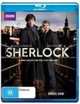 Sherlock Series 1 or 2 (Blu-Ray) $5.58 Each @ JB Hi-Fi