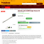EGO 56V 2.5ah 610MM Hedge Trimmer Kit $229 @ TradeTools