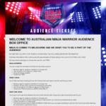 [VIC] Free Audience Tickets to Australian Ninja Warrior Grand Finals (29 Nov & 1 Dec)