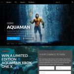 Win a Custom Aquaman Xbox One X Worth $649 from Roadshow