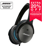 Bose QC25 Quiet Comfort Noise Cancelling Headphones (Android Model) $189.60 Delivered from AV Great Buys eBay