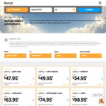 Flash Sale E.g. Bris → Syd from $54.95 with Tiger Airways