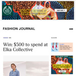 Win a $500 Elka Collective Voucher from Fashion Journal