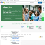 Receive a $49 Voucher (Min Spend $150) When You Join eBay Plus ($49)