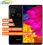 Global Version: SHARP AQUOS S3 4GB 64GB Snapdragon 630 US $147.89 (AU $206) Delivered @ AliExpress