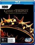 Game of Thrones Season 2 Blu-ray $9.99 + Delivery (Free with Prime/ $49 Spend) @ Amazon AU