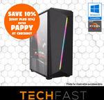 Ryzen 3 2200G + RX 570 8GB / Ryzen 5 + 2600 RTX 2080 8GB: $599.40 / $1299.60 Delivered @ TechFast eBay
