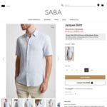 Men's Cotton/Linen Blend Jacques Shirt $15.20 (Was $129) + $10 Shipping  @ SABA