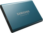 Samsung T5 Portable SSD Blue 500GB $103.20 + Delivery (Free C&C) @ The Good Guys eBay