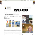 Win 1 of 5 Bar Keepers Friend Prize Packs Worth $58 from MiNDFOOD