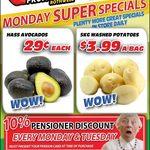 [QLD] Hass Avocado $0.29 Each @ Northside Fruit Barn (Rothwell)