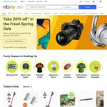 $5 off $15 Spend @ eBay AU (NZ Registered Address Change Req) (E.G Horizon Zero Dawn CE $14.96 C&C @ EB eBay)