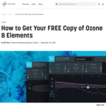 Izotope Ozone 8 Elements (Music Mastering Software) - Free, Usually $129