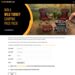 Win 1 of 3 Wild Turkey BBQ & Camping Packs Worth $550 from Cellarbrations/The Bottle-O
