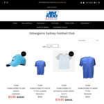 SYDNEY FC - Save over 80% off on Apparel - $19.95 Jerseys & $9.95 Tees (+ $15 Shipping or $0 C+C Perth) @ JIM KIDD SPORTS