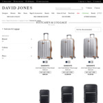 Buy 1 Get 1 Free Suitcase & Luggage @ David Jones
