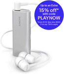 Sony SBH56 Stereo Bluetooth Headset with MH755 Earphones - Silver $25.64 + Delivery ($0 with Plus) @ Allphones eBay