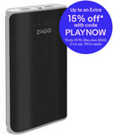 2x Zagg Ignition 12 12000mAh 2.1A Power Bank with LED Torch - Black $23.24 Delivered (eBay Plus) @ Allphones eBay