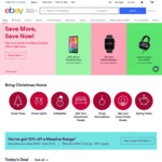 $5 off Any eBay Plus Item (Min Spend $50 & except Excluded Items) @ eBay Australia