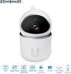 Tuya Smart Video Camera 1080p, App Enabled, 2-Way Audio AU $45.70 Delivered (43% off) @ Zemismart