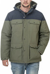CAT Beartooth Colorblocked Parka Jacket (Rifle Green & Gunmetal) $50 (Was $160) C&C /+ Delivery @ CAT Workwear