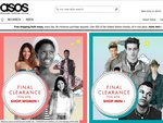 ASOS - 20% off Final Clearance
