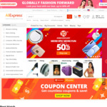 US $2.26 off US $11.55 Spend @ AliExpress
