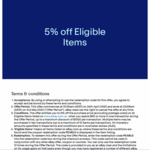 5% off Eligible Items (Minimum $50 Spent) @ eBay AU