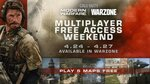 [XB1, PS4, PC] Free to Play Weekend: Call of Duty Modern Warfare Multiplayer