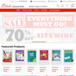 70% off Sitewide @ Blake Education