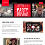 Free Virtual Parties (Adults and Kids) - Holey Moley, Strike Bowling & Archie Bros + Free Voucher