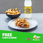 Free Regular Chips & 600ml Drink with Loaded Parma Purchase $15 @ Schnitz via Menulog