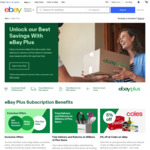 [eBay Plus] Receive $30 eBay Voucher upon $49 Renewal of Current Subscription