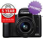 Canon EOS M50 KIT $848 Delivered (+ $80 Cashback from Canon) @ Videopro