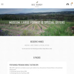 Premium McLaren Vale & SA Shiraz Mixed Pack - $156/6pk Delivered (RRP $374) @ Bec Hardy Wines