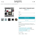 Premium Dartboard & Accessories Gift Pack (One80) $379.94 Delivered (Was $479.94) @ Darts Direct