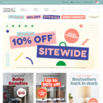 10% off Sitewide (Exclusion Applies) @ Temple and Webster