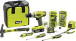 RYOBI 18V ONE+ 1.5ah Home Essentials Combo Kit $159 @ Bunnings