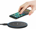 BlitzWolf BW-FWC7 15W Qi Fast Wireless Charger US$11.59 (~A$16.32) - AU Stock Delivered @ Banggood